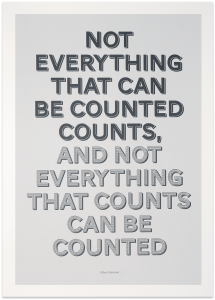 Everything that counts - Cijfers