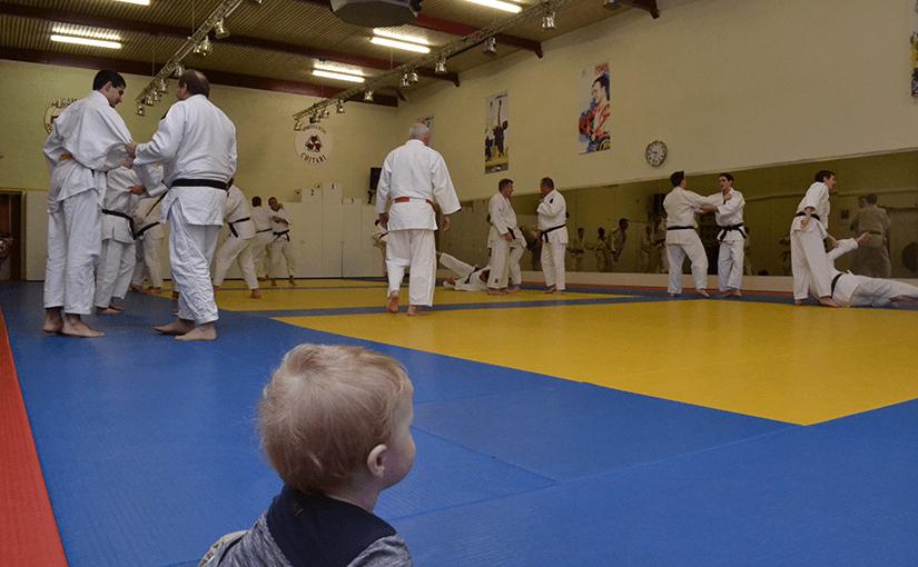 Richard de Bijl leeft judo