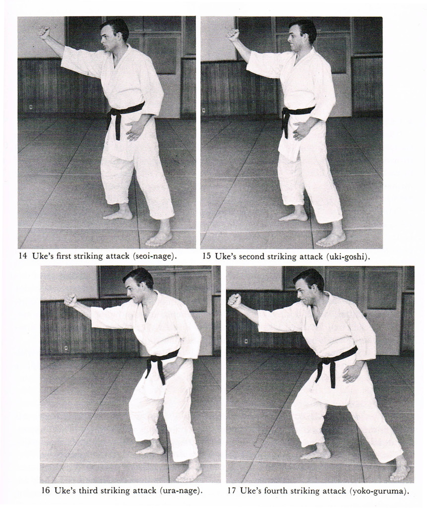 Judo Formal Techniques (Otaki and Draeger)