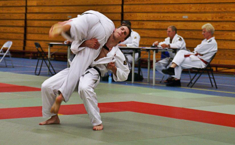 Echt judo in randori